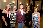 WATERBURY, CT-071917JS06--Kristen Jacoby, President/CPO United Way of Greater Waterbury; Nancy Becker, event chairperson; Joe Gugliotti, Board of Directors Chairman; Sandra Vigliotti Senich, 75th Anniversary Chairperson and JoAnn Reynolds-Balanda, Vice President of Community Impact the United Way of Greater Waterbury gathering to honor their many community partners at the Mattatuck Museum in Waterbury. <br /> Jim Shannon Republican-American