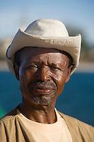 Afrique/Afrique de l'Est/Tanzanie/Dar es-Salaam: portait homme