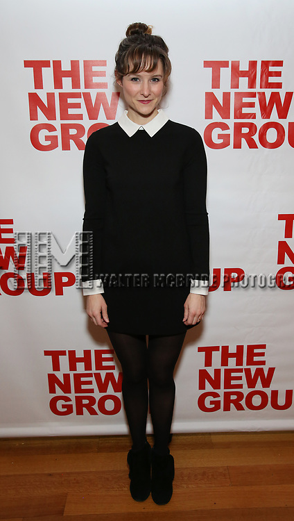 "Jill Paice attends the Off-Broadway Opening Night Premiere of  ""Jerry Springer-The Opera"" on February 22, 2018 at the Roundabout Rehearsal Studios in New York City."