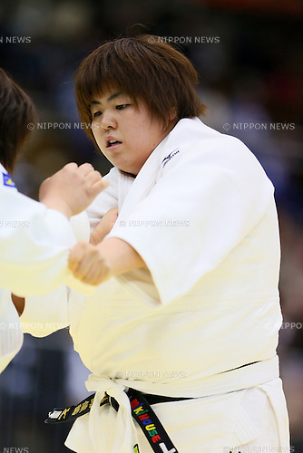 Kanae Yamabe,<br /> APRIL 6, 2014 - Judo : <br /> All Japan Selected Judo Championships <br /> Women's +78kg <br /> at Fukuoka Convention Center, Fukuoka, Japan. <br /> (Photo by Yohei Osada/AFLO SPORT)