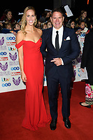 Helen Glover and Steve Backshall<br /> arriving for the Pride of Britain Awards 2018 at the Grosvenor House Hotel, London<br /> <br /> ©Ash Knotek  D3456  29/10/2018