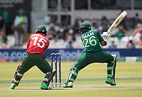 Imam-ul-Haq (Pakistan) cuts backward of point for four runs during Pakistan vs Bangladesh, ICC World Cup Cricket at Lord's Cricket Ground on 5th July 2019