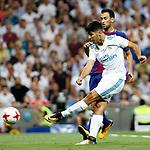 Supercopa de Espa&ntilde;a - Vuelta<br /> R. Madrid vs FC Barcelona: 2-0.<br /> Marco Asensio vs Sergio Busquets.