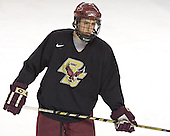 Tim Kunes - Boston College's morning skate on Friday, December 30, 2005 at Magness Arena in Denver, Colorado.  Boston College defeated Ferris State that afternoon in a shootout and defeated Princeton the following night to win the Denver Cup.