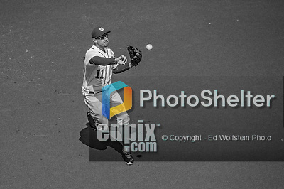 1 April 2013: Washington Nationals third baseman Ryan Zimmerman in action during the Opening Day Game against the Miami Marlins at Nationals Park in Washington, DC. The Nationals shut out the Marlins 2-0 to launch the 2013 season. Mandatory Credit: Ed Wolfstein Photo *** RAW (NEF) Image File Available ***