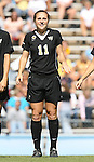 14 October 2007: Wake Forest's Allie Sadow. The University of North Carolina Tar Heels defeated the Wake Forest University Demon Deacons 1-0 at Fetzer Field in Chapel Hill, North Carolina in an Atlantic Coast Conference NCAA Division I Womens Soccer game.