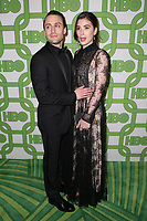 BEVERLY HILLS, CA - JANUARY 6: Kieran Culkin and Jazz Charton at the HBO Post 2019 Golden Globe Party at Circa 55 in Beverly Hills, California on January 6, 2019. <br /> CAP/MPIFS<br /> ©MPIFS/Capital Pictures