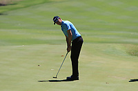 Adam Blyth (AUS) in action on the 1st during Round 3 of the ISPS Handa World Super 6 Perth at Lake Karrinyup Country Club on the Saturday 10th February 2018.<br /> Picture:  Thos Caffrey / www.golffile.ie<br /> <br /> All photo usage must carry mandatory copyright credit (&copy; Golffile | Thos Caffrey)