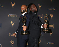 LOS ANGELES - SEP 9:  Common, Robert Glasper at the 2017 Creative Emmy Awards Press Room at the Microsoft Theater on September 9, 2017 in Los Angeles, CA