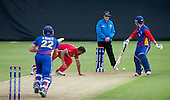 ICC World T20 Qualifier (Warm up match) - Canada V Namibia at Heriots CC, Edinburgh — credit @ICC/Donald MacLeod - 06.7.15 - 07702 319 738 -clanmacleod@btinternet.com - www.donald-macleod.com
