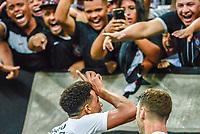 SÃO PAULO, SP, 26.01.2019 - CORINTHIANS-PONTE PRETA - Gustavo, jogador do Corinthians comemora seu gol durante partida contra a Ponte Preta em jogo válido pela 3ª rodada do Campeonato Paulista 2019 na Arena Corinthians em São Paulo, neste sábado, 26. (Foto: Anderson Lira/Brazil Photo Press)
