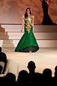 """Miss Hungary Dalma Karman, November 11, 2014, Tokyo, Japan : Miss Hungary Dalma Karman walks down the runway during """"The 54th Miss International Beauty Pageant 2014"""" on November 11, 2014 in Tokyo, Japan. The pageant brings women from more than 65 countries and regions to Japan to become new """"Beauty goodwill ambassadors"""" and also donates money to underprivileged children around the world thought their """"Mis International Fund"""". (Photo by Rodrigo Reyes Marin/AFLO)"""