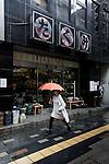 Tokyo, June 26 2013 -  Takumi folkcraft shop in the Ginza area.