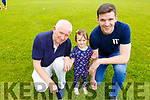 Tom, Shane and Sophie Brosnan enjoying the Kerins O'Rahillys family fun day on Sunday at the club grounds.