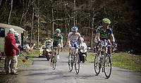 Liege-Bastogne-Liege 2012.98th edition..typical Ardennes hill