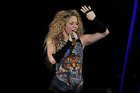 LONDON, ENGLAND - JUNE 11: Shakira performing at the O2 Arena on June 11, 2018 in London, England.<br /> CAP/MAR<br /> &copy;MAR/Capital Pictures