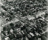 1969 October 13..Redevelopment...E Ghent South (A-1-1)..View from South (looking North) showing intersection of Colonial Avenue and Olney Road..HAYCOX PHOTORAMIC INC..NEG# C-43.NRHA#..
