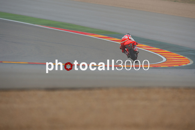 Gran Premio Movistar de Aragón<br /> during the moto world championship in Motorland Circuit, Aragón<br /> Race Moto3<br /> juanfran guevara<br /> PHOTOCALL3000