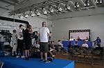 07.06.2019, Ratina-Stadion, Tampere, EM-Qualifikation 2019/2020, Gruppe J, Finnland vs Bosnien-Herzegowina , <br />EM-Qualifikation 2019/2020, Gruppe J, Finnland vs Bosnien-Herzegowina, im Bild<br />Pressekonferenz der finnischen Nationalmannschaft mit Trainer Markku Kanerva (FIN), Teemu Pukki (Norwich City, FIN)<br /> <br /> Foto © nordphoto / Bratic