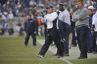 27 November 2010:  Penn State defensive coordinator Tom Bradley..The Michigan State Spartans defeated the Penn State Nittany Lions 28-22 to win the Land Grant Trophy at Beaver Stadium in State College, PA..