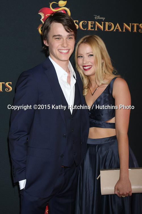 "LOS ANGELES - JUL 24:  Mitchell Hope at the ""Descendants"" Premiere Screening at the Walt Disney Studios on July 24, 2015 in Burbank, CA"