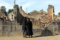 The martyred city: Oradour-sur-Glane