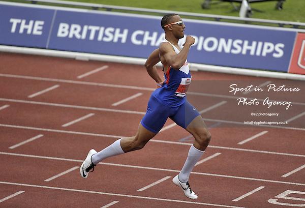 Matthew Hudson-Smith wins the Mens 400m. British Athletics Championships. Alexander Stadium. Birmingham. UK. 26/06/2016. ~ MANDATORY CREDIT Garry Bowden/SIPPA - NO UNAUTHORISED USE - +447837 394578