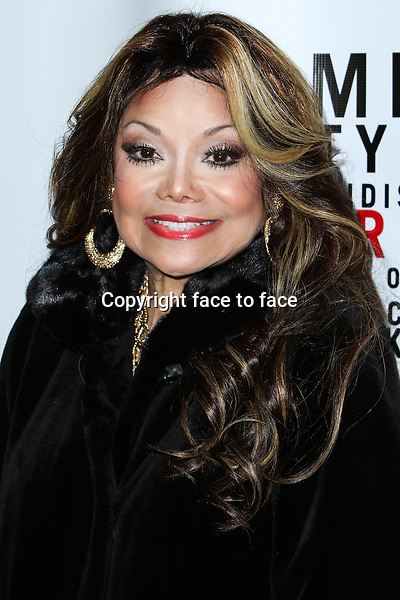"La Toya Jackson attending the ""Mike Tyson: Undisputed Truth"" Los Angeles Opening Night held at The Pantages Theatre on March 8, 2013 in Hollywood, California. ..Credit: MediaPunch/face to face..- Germany, Austria, Switzerland, Eastern Europe, Australia, UK, USA, Taiwan, Singapore, China, Malaysia and Thailand rights only -"