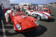 August 26th 1984, Laguna Seca Raceway, CA. 1958 Ferrari 250 Testa Rossa. This is the largest concentration of Ferrari, more than 3.000 models and proud owners show their cars and race with them.