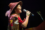 Ta'Kaiya Sierra Elizabeth Blaney from the Sliammon First Nation speaks at the Powershift 2013 plenary in Pittsburgh, PA. (Photo by: Robert van Waarden)