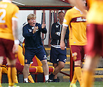 Motherwell manager Stuart McCall is furious