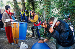 Ground camp beat out some rythms for the trees during the Whitecroft woods eviction <br /> Solsbury Hill road protest.