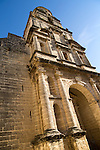 Historic church in Barrio de Santiago, Iglesia de San Juan de los Caballeros, Jerez de la Frontera, Spain