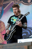 Mastodon performing at the 2010 Melbourne Big Day Out festival at Flemington Racecourse, 26 January 2010