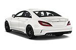 Car pictures of rear three quarter view of 2017 Mercedes Benz CLS AMG-63-S 4 Door Sedan Angular Rear