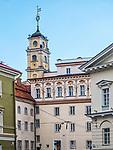 Litwa, Wilno, 08.07.2014.Uniwersytet W<br /> ileński.