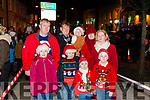 Pictured at the Abbeyfeale Switch On The Christmas Lights on Friday December 1st were Front :Sarah Louise Collins, Ricky O&rsquo; Mahony, Emma Rose &amp; Shane Collins. <br /> Back: Mark Collins, Muris &amp; Aoife O&rsquo; Mahony, Elanor O&rsquo; Mahony &amp; Angela Collins.( From Dromtrasna Abbeyfeale)