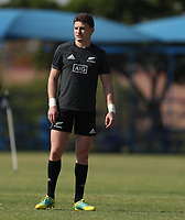 PRETORIA, SOUTH AFRICA - OCTOBER 05: Beauden Barrett of the New Zealand (All Blacks) during the Rugby Championship New Zealand All Blacks captain's run at St David's Marist Inanda in Sandown, South Africa on Friday, October 5, 2018. Photo: Steve Haag / stevehaagsports.com