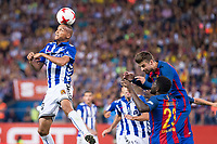 Deportivo Alaves's XXX and FC Barcelona's XXX during Copa del Rey (King's Cup) Final between Deportivo Alaves and FC Barcelona at Vicente Calderon Stadium in Madrid, May 27, 2017. Spain.<br /> (ALTERPHOTOS/BorjaB.Hojas) /NortePhoto.com