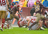 San Francisco 49ers against the Washington Redskins at FedEx Field in Landover, Maryland on Sunday, October 20, 2018.  The 49ers won the game 9 - 0.<br /> Credit: Ron Sachs / CNP