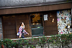 Photo shows the trendy neighborhood of Kichijoji in Musashino City,  Tokyo, Japan on 16 Sept. 2012.  Photographer: Robert Gilhooly