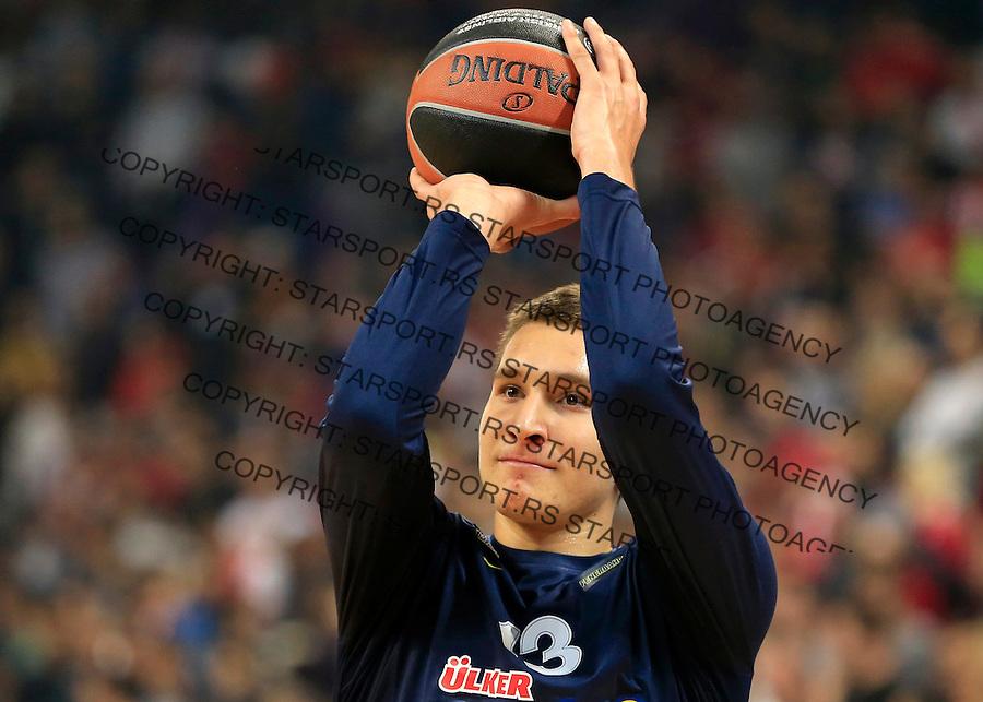 Kosarka Euroleague season 2015-2016<br /> Euroleague <br /> Crvena Zvezda v Fenebahce Istanbul<br /> Bogdan Bogdanovic<br /> Beograd, 06.11.2015.<br /> foto: Srdjan Stevanovic/Starsportphoto &copy;