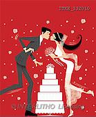 Isabella, WEDDING, paintings, couple, cake(ITKE132010,#W#)