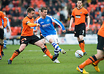 Dundee United v St Johnstone.....04.05.13      SPL.Chris Millar and John Souttar.Picture by Graeme Hart..Copyright Perthshire Picture Agency.Tel: 01738 623350  Mobile: 07990 594431