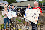 DAISY'S DAY OUT: Locals in Camp are getting ready for the fifth annual Camp Cash Cow fundraiser taking place on August 2nd with a cash prize of €500. Pictured were: Mary Knightly, John Chambers, Gene Finn, Thomas Ashe, and Ian Hassell.