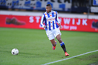 VOETBAL: HEERENVEEN: Abe Lenstra Stadion 04-04-2015, SC Heerenveen - NAC, uitslag 0-0, Kenneth Otigba (#2), ©foto Martin de Jong