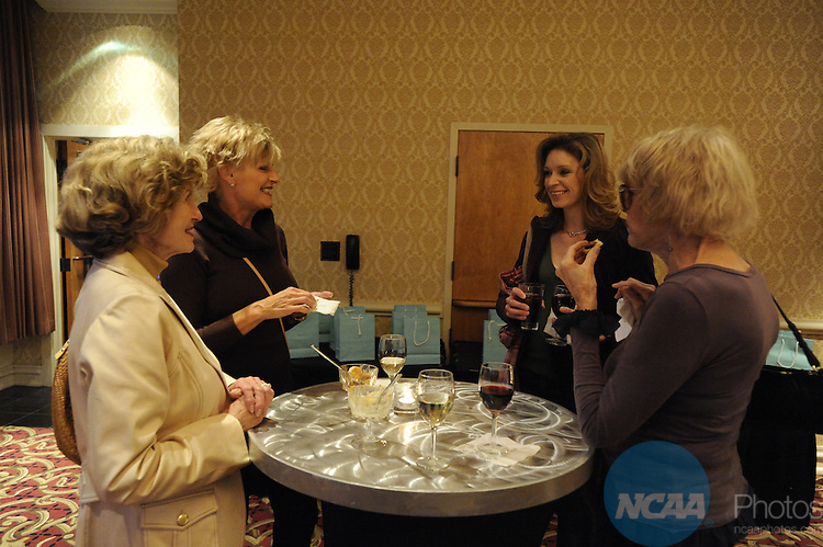 17 OCT 2009: Honorees and guests attend the Saturday reception during the 2009 NCAA Woman of the Year Awards in Indianapolis, IN.  Brett Wilhelm/NCAA Photos