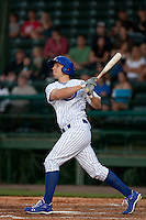 April 7th 2010: Josh Vitters of the Daytona Cubs, Florida State League High-A affiliate of the Chicago Cubs in the game against Embry-Riddle Aeronautical University at Jackie Robinson Ballpark in Daytona Beach, FL (Photo By Scott Jontes/Four Seam Images)
