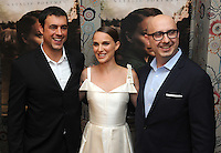 """NEW YORK, NY - August 15 : Anjay Nagpal, Natalie Portman, Peter Kujawski attend the New York screening for """" A )Tale of Love and Darkness"""" on august 15, 2016 at the Crosby Hotel in New York City.  Photo Credit:John Palmer/ MediaPunch"""