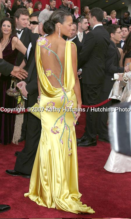 Keisha Whitaker.79th Annual Academy Awards.Kodak Theater .Hollywood & Highland.Hollywood, CA.February 25, 2007.©2007 Kathy Hutchins / Hutchins Photo....